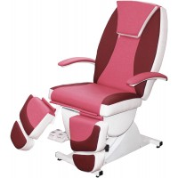 Педикюрное косметологическое кресло «Нега» (электропривод, 5 моторов) (высота 620 - 1000мм)